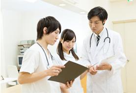 医療機関での仕事風景